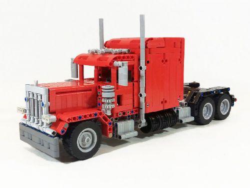 Lego Technic Peterbilt Truck