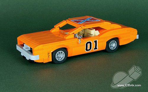 Lego General Lee Dodge Charger