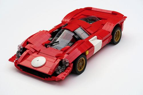 Lego Ferrari 330 P4