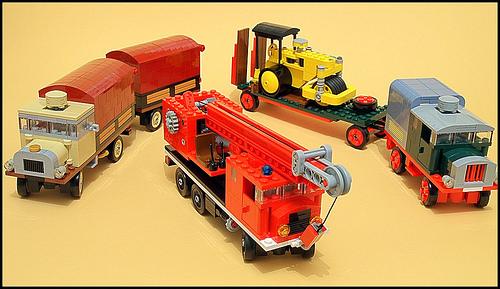 Lego Vintage Vehicles