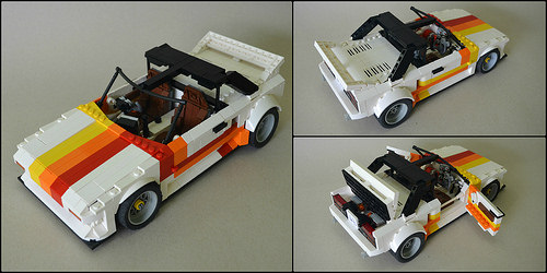 Lego Toyota MR2 Turbo
