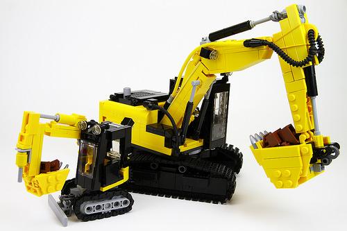 Lego Excavators