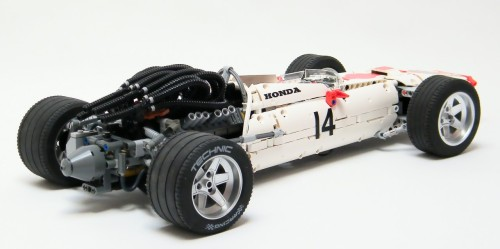 1967 Honda RA300 Formula 1 Lego Technic