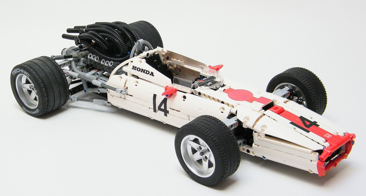 lego technic honda ra300 formula 1 grand prix car the lego car blog. Black Bedroom Furniture Sets. Home Design Ideas