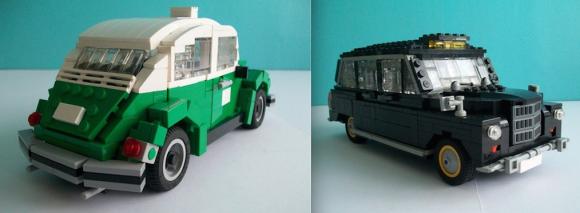 Lego Taxis