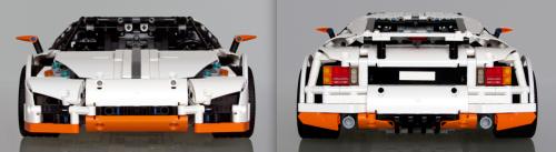 Lego technic Predator Supercar
