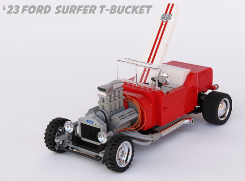Lego Model T Hot Rod