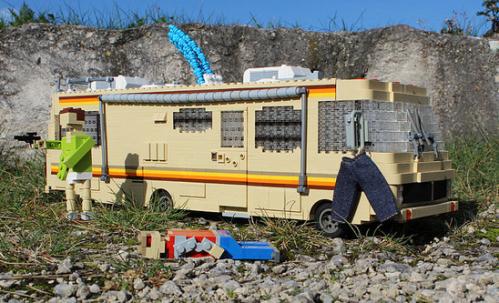 Lego Breaking Bad Meth Lab RV
