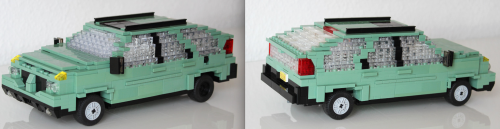 Lego Pontiac Aztec Breaking Bad