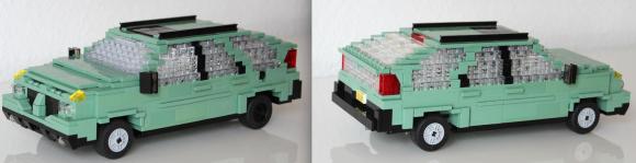 Lego Pontiac Aztec Breaking Bad