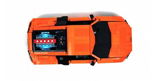lego audi r8 the lego car blog. Black Bedroom Furniture Sets. Home Design Ideas