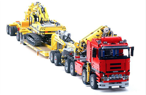 lego technic 8258 trailer the lego car blog. Black Bedroom Furniture Sets. Home Design Ideas