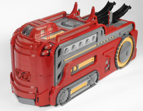 Lego Sci-Fi Tank Thingumy