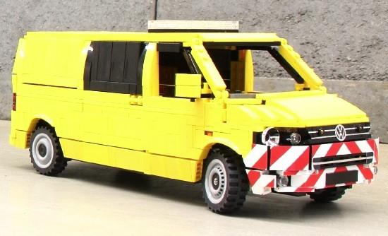 lego volkswagen transporter van the lego car blog. Black Bedroom Furniture Sets. Home Design Ideas
