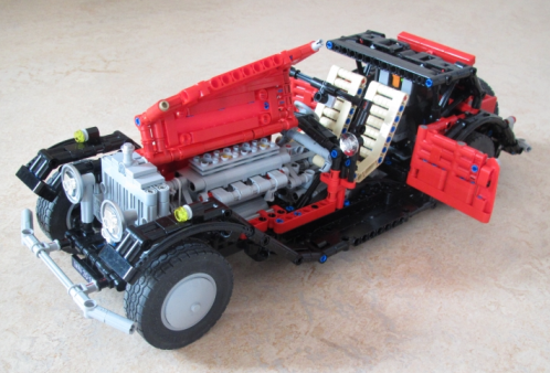 Lego Technic Rolls Royce Phantom II