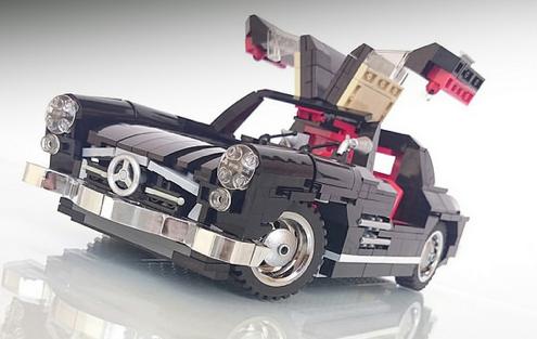 Lego mercedes benz 300sl gullwing the lego car blog for Lego mercedes benz
