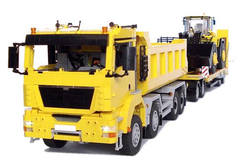 Lego MAN TGS Truck