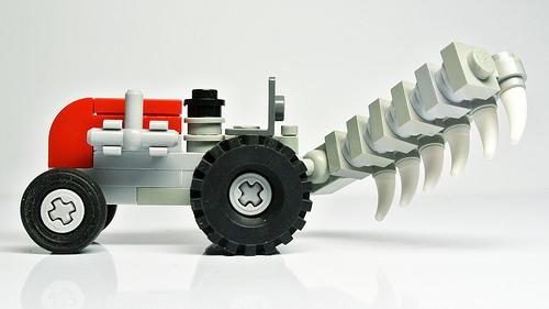 Lego Tractor