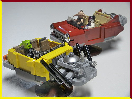 Lego Space Hot Rods