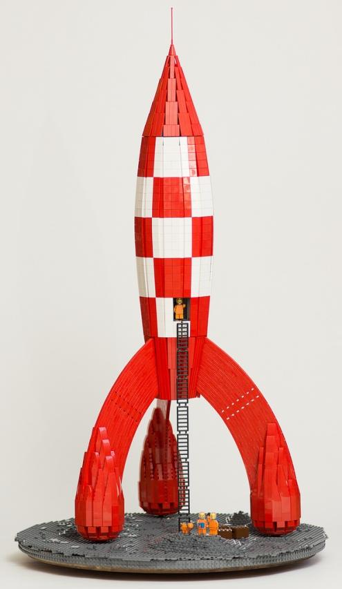 Lego Tintin Rocket