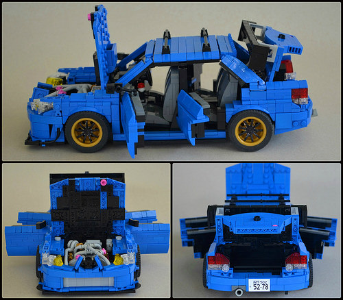 Subaru Impreza WRX Lego
