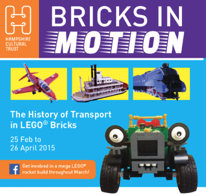 Lego Bricks in Motion