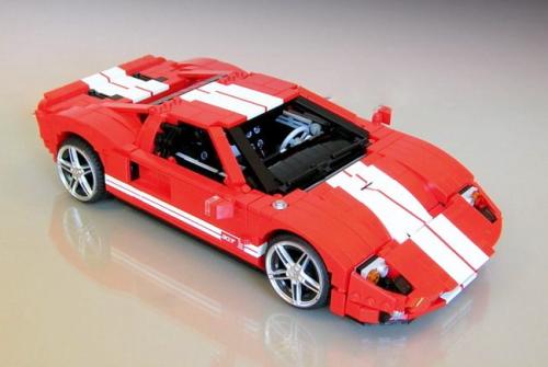 Lego Ford GT Firas Abu-Jaber