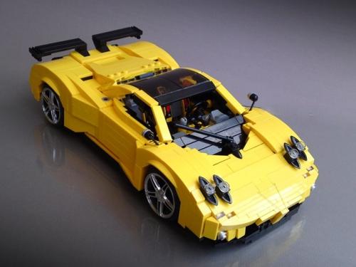 Lego Pagani Zonda Firas Abu-Jaber