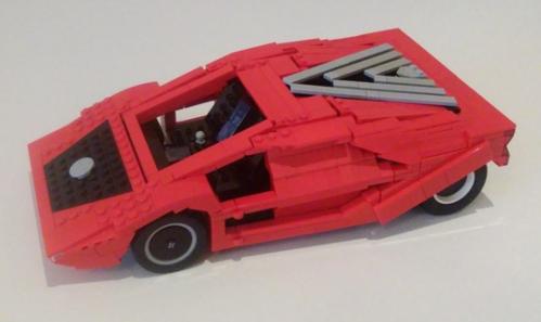 Lego Lancia Stratos HF Zero 1970