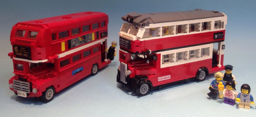 Lego AEC STL London Routemaster Bus
