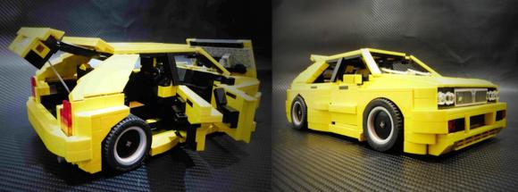 Lego Lancia Delta HF Integrale