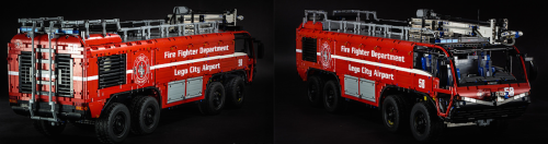 Lego Technic RC Airport Fire Truck