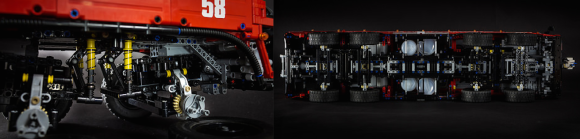 Lego Technic Airport Fire Tender