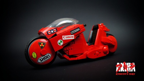 Lego Akira Kaneda's Bike