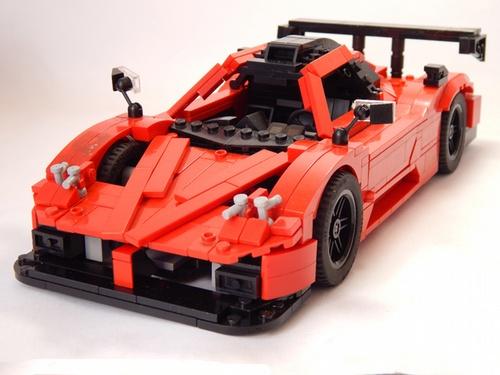 Lego Pagani Zonda R