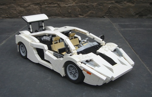 Lego McLaren Concept Supercar