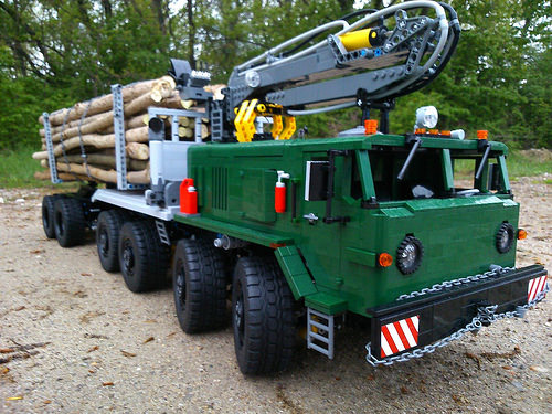 lego logging truck - photo #32