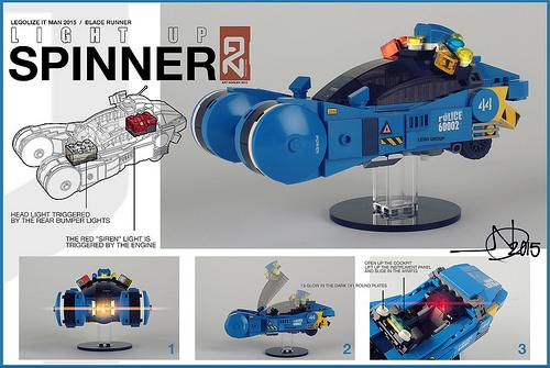 Lego Spinner Blade Runner