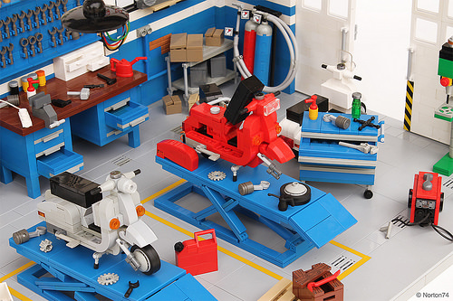 Lego Officina Super Sprint