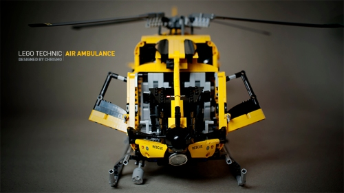 Lego Technic Air Ambulance Helicopter