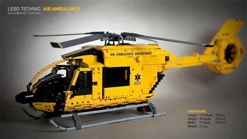 Lego Technic Helicopter