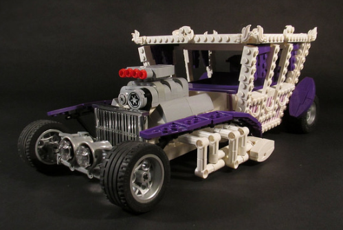 Lego Druid Princess Hot Rod
