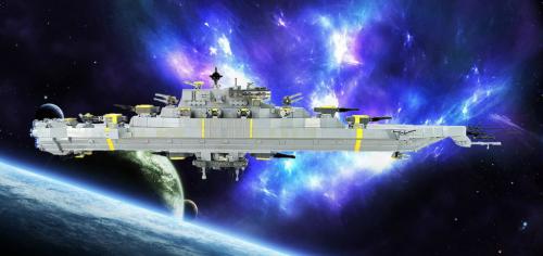 Lego USS Avenger Ship