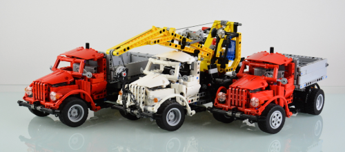 Lego Technic Gaz Trucks