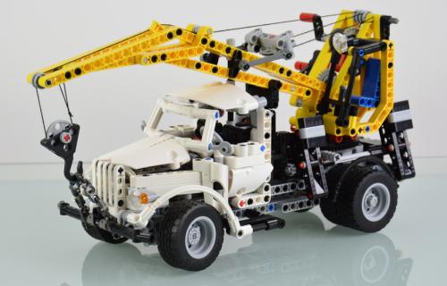 Lego GAZ 51 Crane Truck