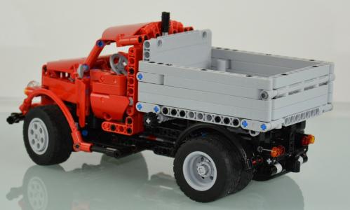 Lego Technic GAZ 51 Truck
