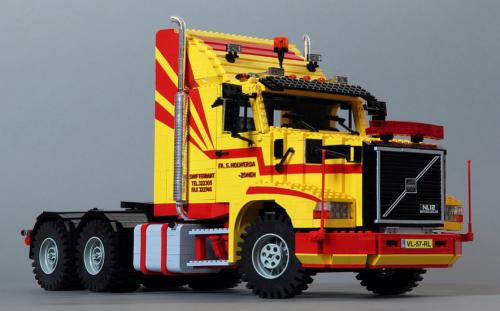 Lego Volvo NL12 Truck