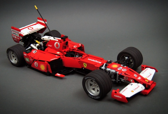 formula 1 the lego car blog. Black Bedroom Furniture Sets. Home Design Ideas