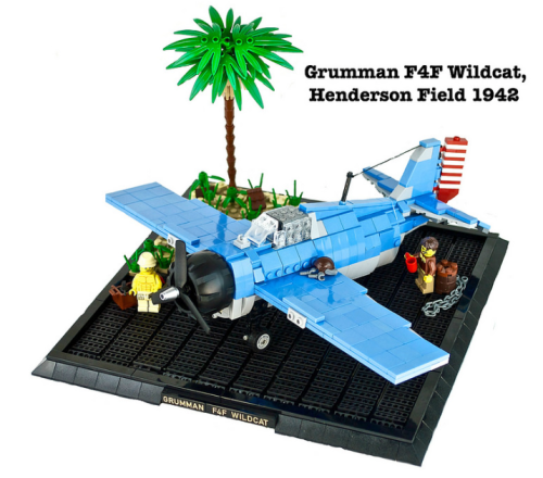 Lego Grumman F4F Wildcat