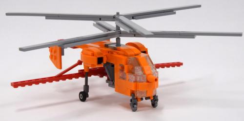 Lego Kamov Ka-26 Helicopter